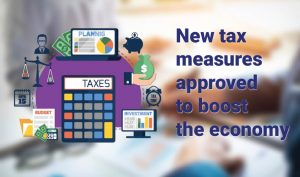 NEW TAX MEASURES APPROVED TO BOOST THE ECONOMY