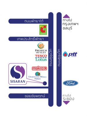 SIS_Corporate-Office_Map_Thai